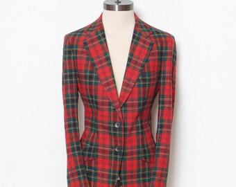 Vintage plaid jacket / Plaid blazer / Vintage blazer / Plaid / Vintage blazer / blazer / 70s Jacket / Vintage Jacket / Vintage men's jacket