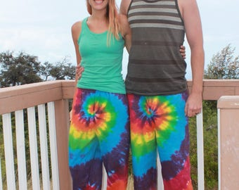 Tie Dye Adult Sweatpants | Sizes Small through 2X