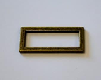 Sliders 2 Bar 40mm - Antique Brass