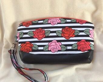 Enchanted Rose Wristlet Bag