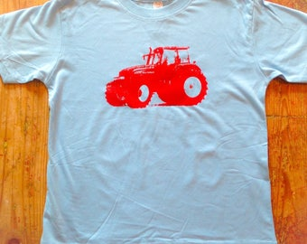 Tractor Shirt-Birthday tractor shirt~ tractor tshirt~ tractor Onesie®~ farm~ truck~ personalized tractor shirt~Farm shirt~Farm Birthday~Farm
