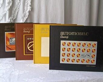 Vintage Automobile Quarterly Vol 9 All Four Quarters Collectible Books Automotive Collectibles Vintage 1971