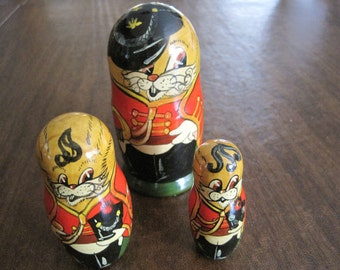 3 pcs Russian Nesting Dolls