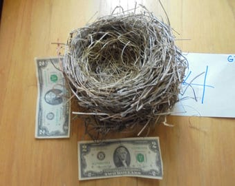 Real found bird nest  Northern Missouri Classroom Natural Teaching Aid  Wreath Centerpiece wedding bridal shower decor Photo prop GT#1