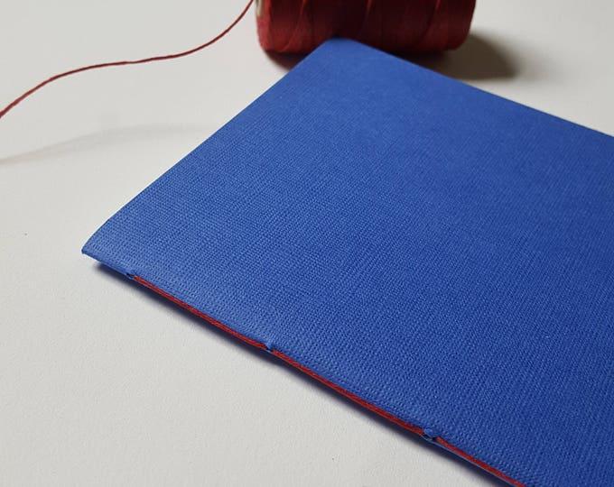 Goals Journal - Motivation Journal - Exercise Journal - True Blue Textured Cover - Journal - Jotter