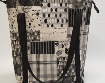 Project Bag in Lecre Patchwork, size Large