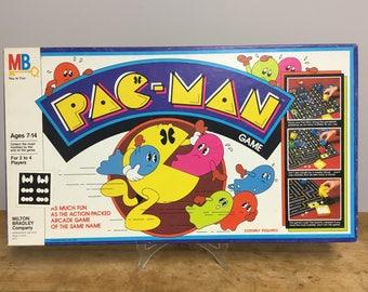 PAC-MAN Board Game by Milton Bradley 1980