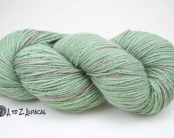 Hand Dyed Royal Baby Alpaca Yarn Worsted Weight - #01