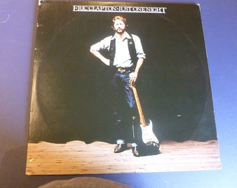 Eric Clapton Just One Night Vinyl Record RS-2-4202 RSO Records 1980