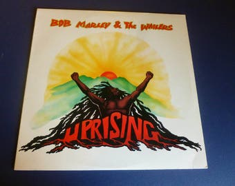 Bob Marley & The Wailers Uprising Vinyl Record 90036-1 Island Records 1980