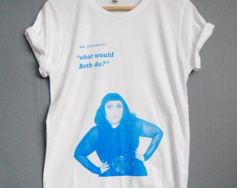 Beth Ditto - What would Beth do? Organic Cotton T-shirt