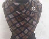 Large 'Outlander' scarf