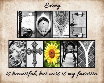 LOVE STORY Alphabet Photography, Letter Photos -  various sizes UNFRAMED