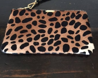 Leopard Pouch 5x8 inches