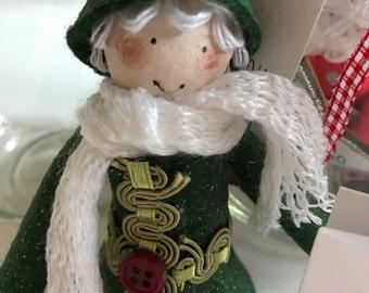 Christmas Elf, Santa, Fairy, and Angel Wishing Fairy Jars