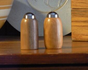 Salt shaker- pepper shaker - Handmade Wooden Salt and Pepper Shakers - SPS61