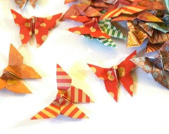 SALE LAST SET 36 Assorted Chiyogami Butterflies