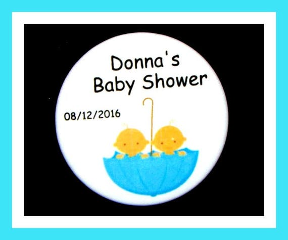 Baby Shower Gender Reveal Favors,Personalized Buttons,Favor Tags,Its Twins,Party Favors,Birthday Party Favors,Personalized Favors,Set of 10