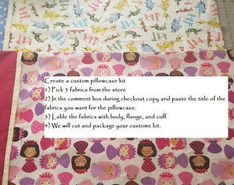 Custom Pillowcase Kit