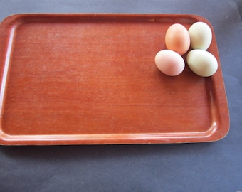 mid century modern wooden tray. sweden. serving tray swedish