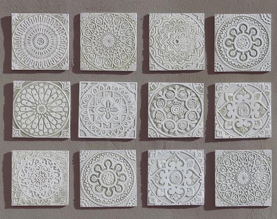 Tiles For Wall Decor : Tiles outdoor wall art garden decor with