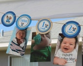 Little Blue Truck 12 Month Photo Banner