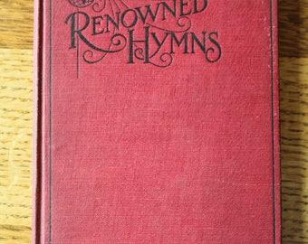World Renown Hymns 1909