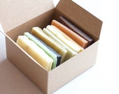 Soap Ends Sampler, Homemade Soap, Handmade Soap, Natural Soap, Soap Box, Odds and Ends, Rustic soaps, cold process essential oil soap sample