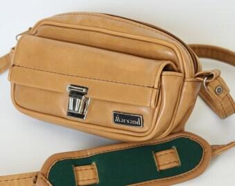 Vintage Marsand Tan Padded Camera Bag