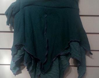 Aqua Green Pixie Point Skirt