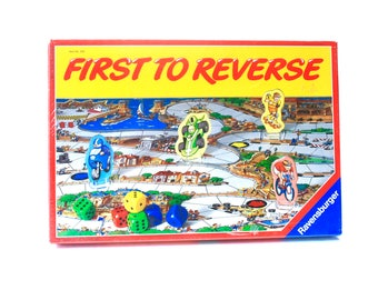 First To Reverse Board Game by Ravensburger Still Sealed 1988