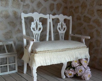 Armchair for dollhouse - Miniature