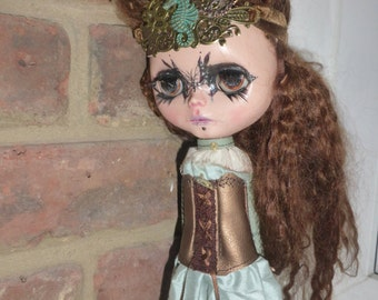 Blythe OOAK STEAMPUNK Outfit  (BD2817)