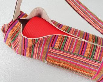 ADD A ZIPPER - external long zipper to open bag with EASE.