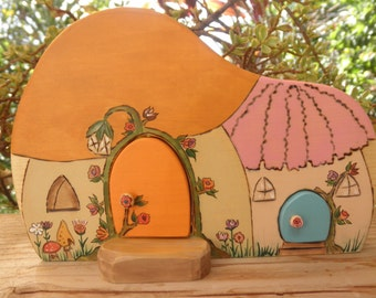 Wooden Whimsical PLAYSCAPE –HABITATS-Magic Portal-Waldorf Inspired