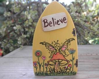 FAIRY DOOR-Wooden Mini Playscape-Toy-Home Décor-Believe