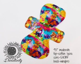 "9.5"" Moderate Cloth Pad 