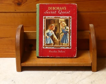 "Vintage  Mid Century 1950's Hardcover Book  ""Deborah's Secret Quest"""