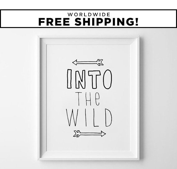 Warriors Into The Wild Full Movie: Into The Wild Movie Poster Motivational Poster Wall By
