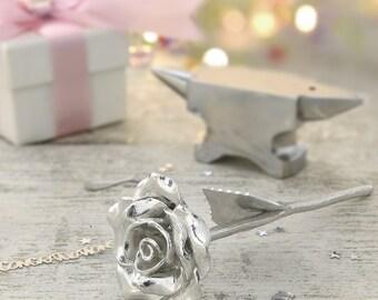 11th Anniversary Gift Everlasting Rose - 11 Year Anniversary Gift Idea