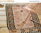 10% OFF RUG SALE Discounted 2x3 Vintage Kilim Rug Mat