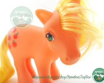 Vintage My Little Pony Applejack 1980s Toy by Hasbro
