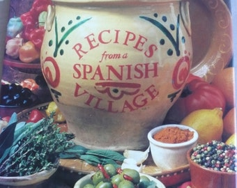 Recipes From A Spanish Village by Pepita Aris cook book 1990