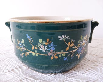 French Terrine - Thick Terrine - French Porcelain - French Pâté - French Porcelain Terrine from Saint Uze Provence