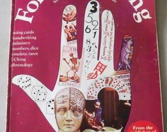 "Vintage 1974 ""Fortune Telling Book"""