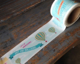 Washi Tape| Decorative Tape Hot Air Balloon