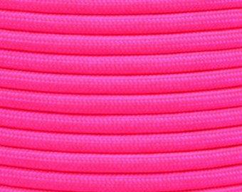 Neon Pink 550 Paracord Cord  X 100ft bundle