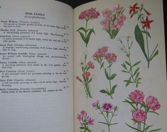 Vintage Gardening Book - The Guide to Garden Flowers by Norman Taylor - 1958 1st Printing Hard Cover - Plant Grow Flowers Flower Garden