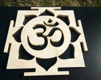Om Yoga symbol, wall decor, Nameste
