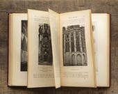 Gothic Architecture book, English and French church and cathedral architecture